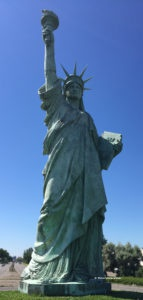 Statue of Liberty in Colmar (FR)